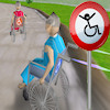 3D Rollstuhl Racing Spiel