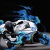 3D Speed-Bike Spiel