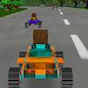 8 Bit 3D racing Spiel