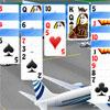 Flughafen-Solitaire Spiel
