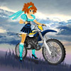 Anime-Motocross Spiel