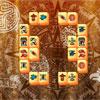 Aztekische Steinen Mahjong Spiel