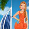 Barbie besucht Dubai Spiel