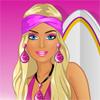 Barbie geht surfen Spiel