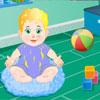 Baby Junge Pflege Spiel