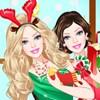 Prinzessin Barbie Weihnachten Spiel
