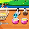 BBQ-Kalbfleisch mit Olive Spiel