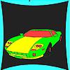 Beste Sport Auto Färbung Spiel