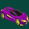 Beste Klasse Rennen Auto Färbung Spiel
