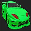Beste Konzept grüne Auto Färbung Spiel