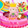 Geburtstag Kuchen Herausforderung Spiel