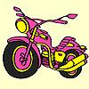 Großen ausdrückliche Motorrad Färbung Spiel