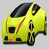Großes Pistaziengrün Auto Färbung Spiel