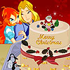Bloom Sky Christmas Cake Spiel