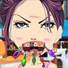 Blissful Mädchen beim Zahnarzt Spiel