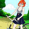 Blüte-Fahrrad-Mode Spiel
