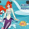 Blüte-Meerjungfrau-Mädchen Spiel