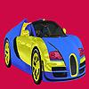 Helle Farbe zwei Auto Färbung Spiel