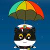 Katze-Weltraum-Abenteuer Spiel
