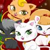 Katze-Tagespflege Deluxe Spiel