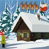 Weihnachten Schnee Wohnstätte Escape Spiel