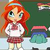 Chibi Bloom Schulmädchen Spiel
