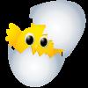 Huhn-Schraffur Spiel