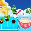 Christmas Pudding Cake Pops Spiel