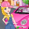 Reinigen Sie mein rosa neuen Käfer Spiel