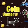 Münze Katze Copter Spiel