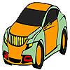 Wohl beste Auto Färbung Spiel