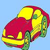 Konzept-Stil Auto Färbung Spiel