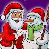 Farbe der Santa Spiel