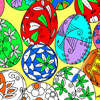 Coloring Easter Eggs 1 Spiel