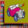 Malbuch - Fahrzeuge Spiel