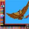 Malvorlagen - Vögel Spiel