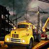 Bau-Stadt Cargo Spiel