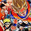 Creetor Animation kämpfen Ruffy VS Naruto Spiel