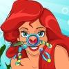 Niedliche Meerjungfrau Nase Arzt Spiel