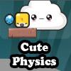 Niedlichen Physik Spiel