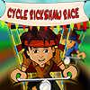 Rikscha-Radrennen Spiel