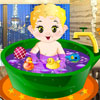 Tägliche Baby-Badewanne Spiel