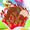 Köstliche unbesiegbar Strawberry Chocolate Ice Cream Spiel