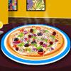 Leckere Pizza Dekoration Spiel