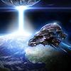 Verteidigung Alien Krieg Spiel
