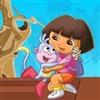 Dora rettet Stiefel Spiel