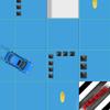Fahren Sie das Auto Spiel