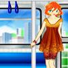 Dress Up Mädchen im Zug Spiel