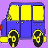 Zwerg-Bus Färbung Spiel