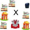 Pädagogische Collecting Kraftstoff Teil 3 lernen Multiplikation Spiel